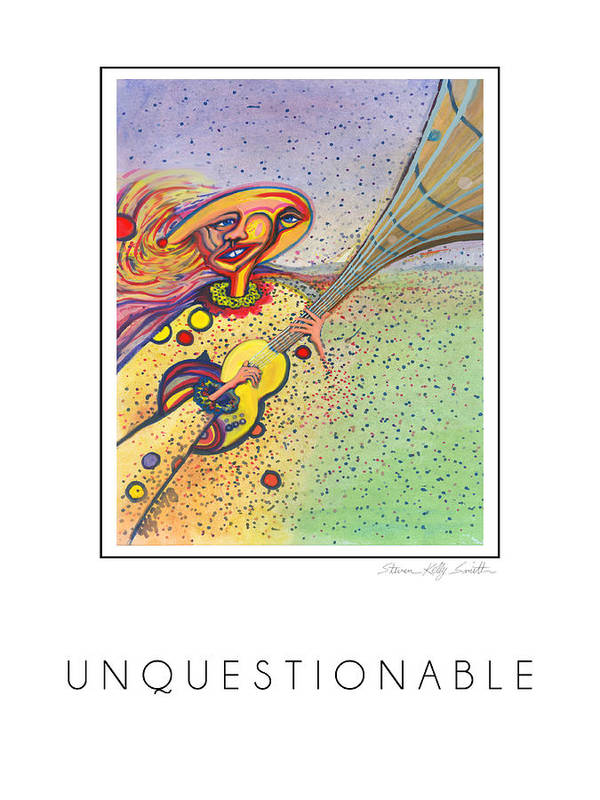 Poster featuring the digital art Unquestionable by Steven Kelly Smith