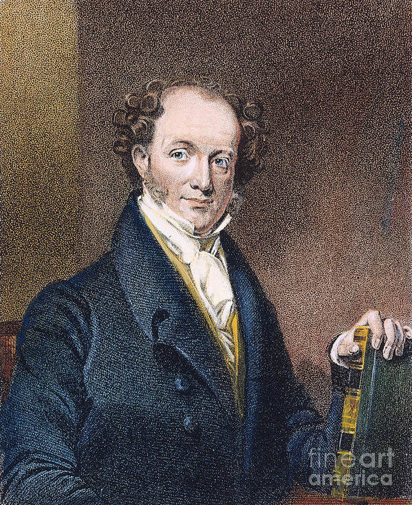 19th Century Poster featuring the photograph Martin Van Buren (1782-1862) by Granger