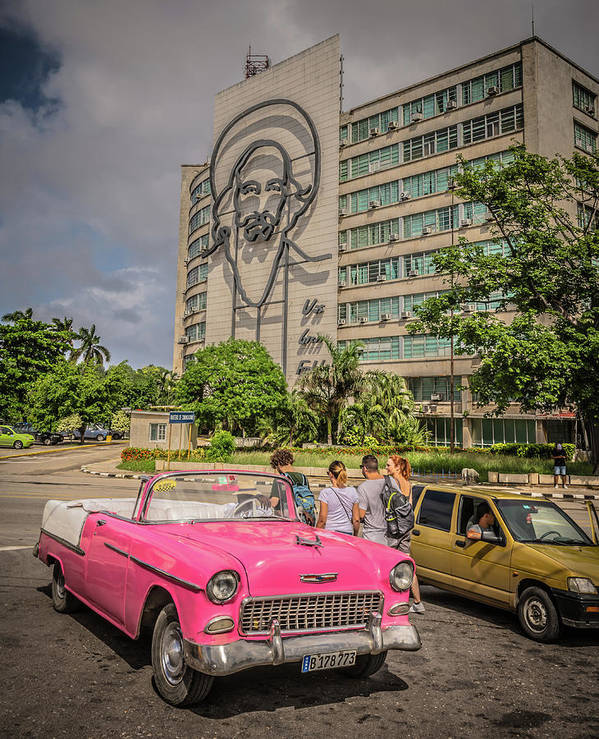 Havana Poster featuring the photograph Old Car by Bill Howard
