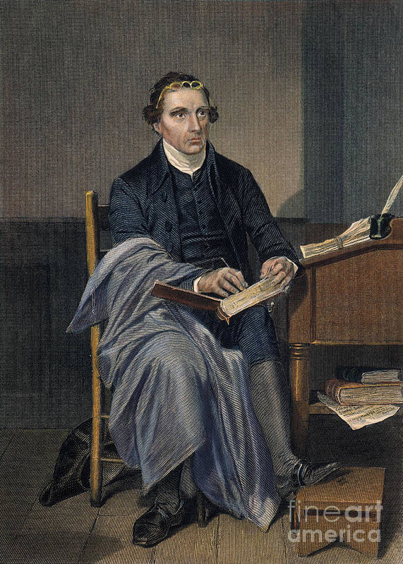 18th Century Poster featuring the photograph Patrick Henry (1736-1799) by Granger