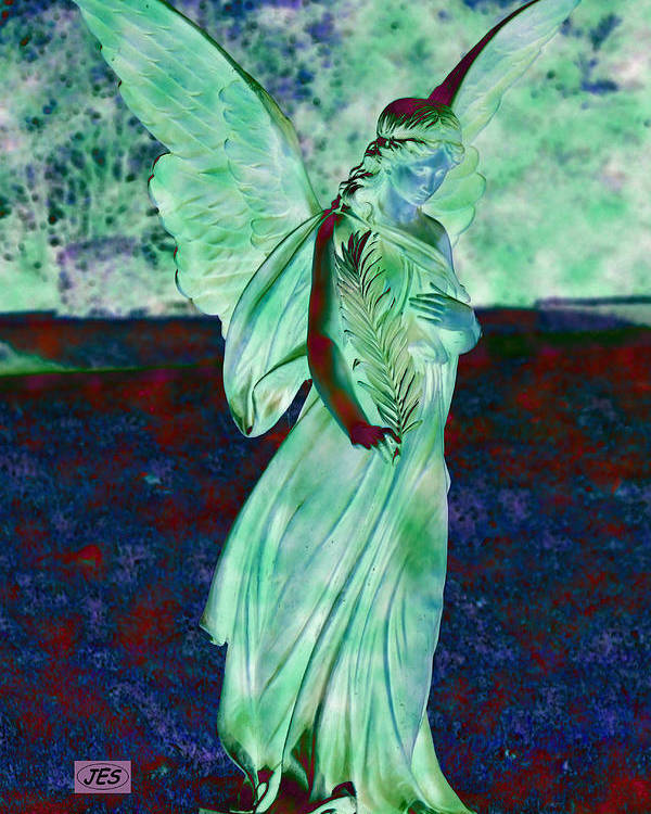 Angel Poster featuring the photograph 5043 3 by Jim Simms