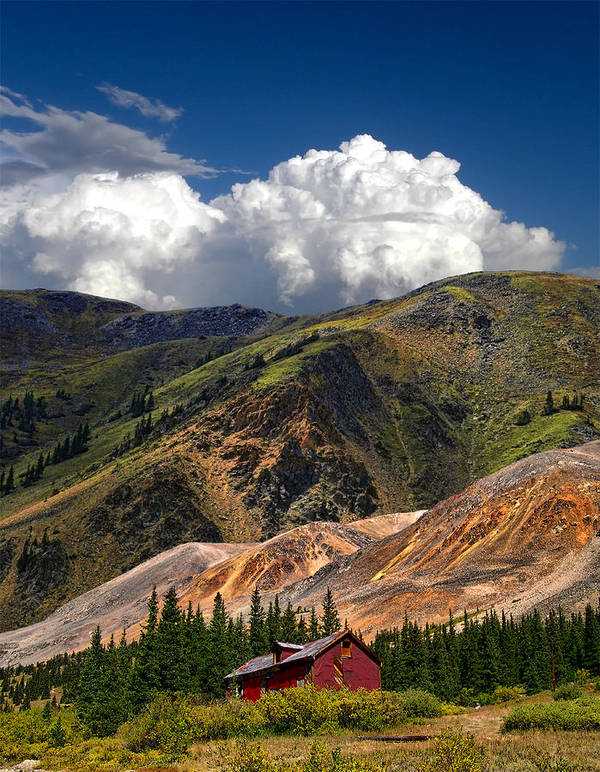 Mountains Poster featuring the photograph 4148 by Peter Holme III