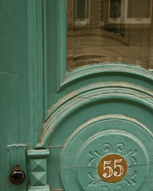 Door Poster featuring the photograph 55 by Art Ferrier