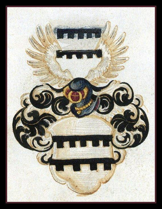 Coat Of Arms. Poster featuring the digital art Coat Of Arms. by Blanca Medina