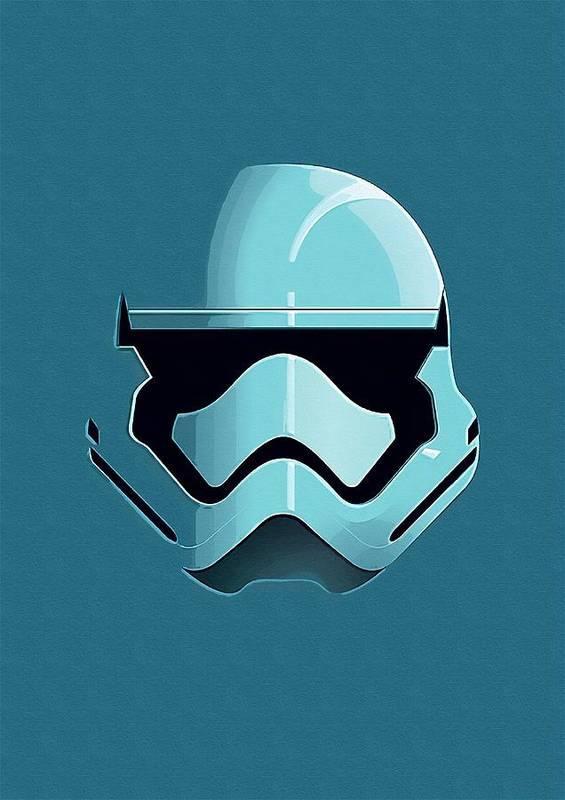 Star The Clone Wars Wars Poster featuring the digital art Star Wars Episode 3 Art by Larry Jones