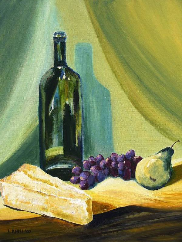 Still Life Poster featuring the painting A Few Of My Favorite Things by Joe Lanni