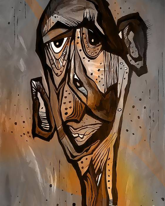 Abstraction Poster featuring the digital art Abstraction 3297 by Marek Lutek