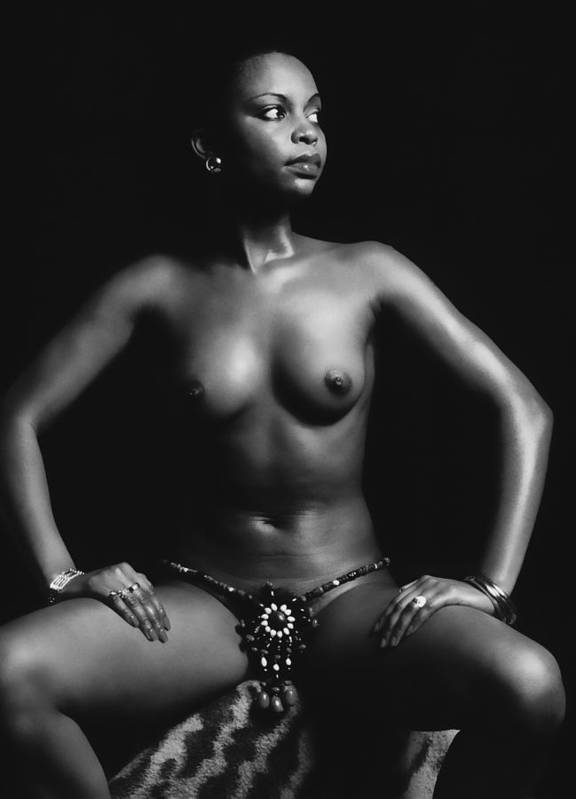 Erotic Fine Art Poster featuring the photograph Africana by Stuart Brown