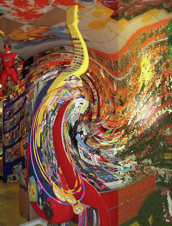 Swirl Poster featuring the photograph Afternoon Hallucination by Anne Cameron Cutri