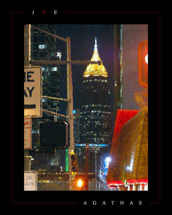 Atlanta Poster featuring the photograph Agathas by Jonathan Ellis Keys