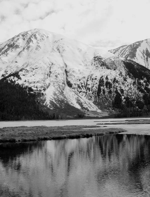 Landscape Poster featuring the photograph Alaska Reflection by Ty Nichols