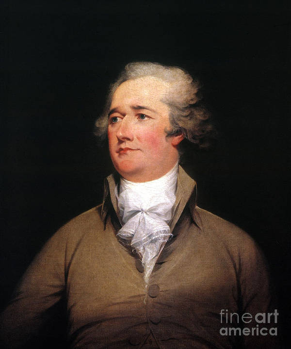 1792 Poster featuring the photograph Alexander Hamilton by Granger