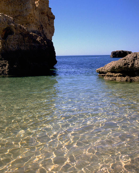 Algarve Poster featuring the photograph Algarve I by Flavia Westerwelle