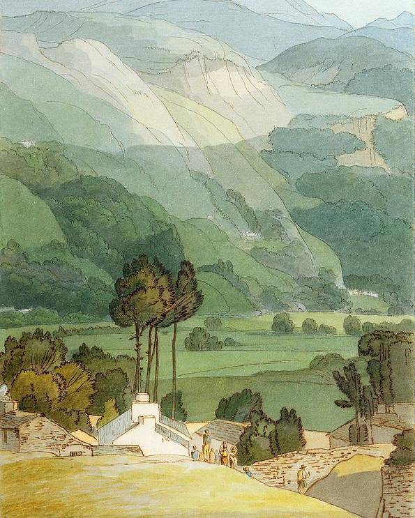 Xyc212098 Poster featuring the photograph Ambleside by Francis Towne