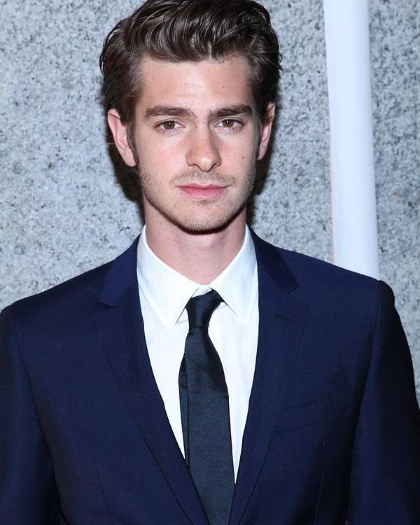 Andrew Garfield Poster featuring the photograph Andrew Garfield At Arrivals For The by Everett