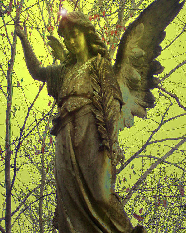 Angel Of Bless Poster featuring the photograph Angel Of Bless No. 01 by Ramon Labusch