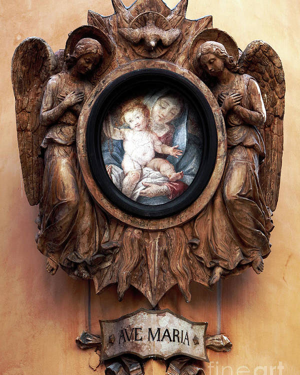 Pictures Poster featuring the photograph Angels Watching Over by John Rizzuto