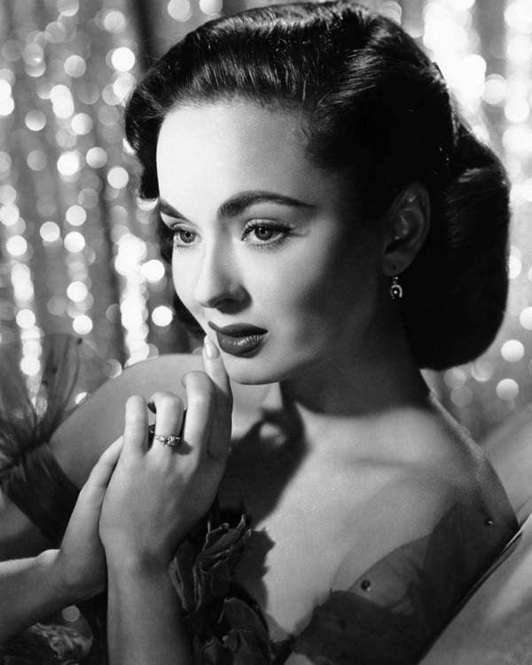 1950s Portraits Poster featuring the photograph Ann Blyth, Ca. 1950s by Everett
