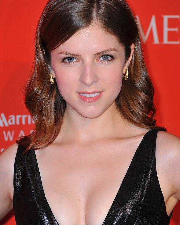 Anna Kendrick Poster featuring the photograph Anna Kendrick At Arrivals For Time 100 by Everett