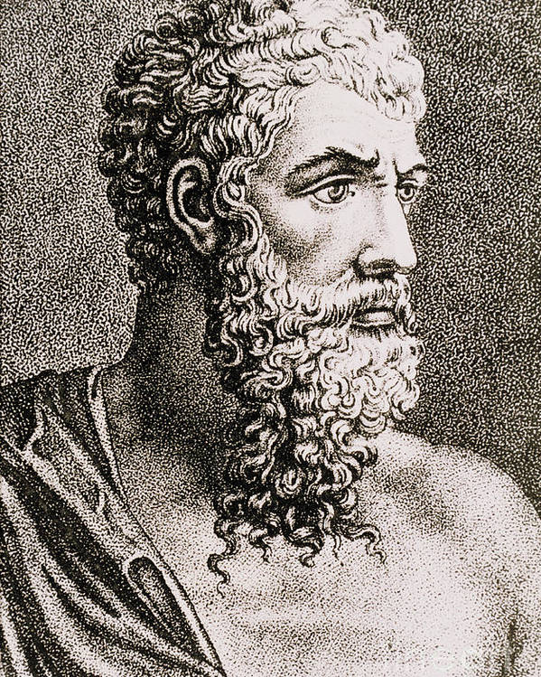 History Poster featuring the photograph Aristotle, Ancient Greek Philosopher by Science Source