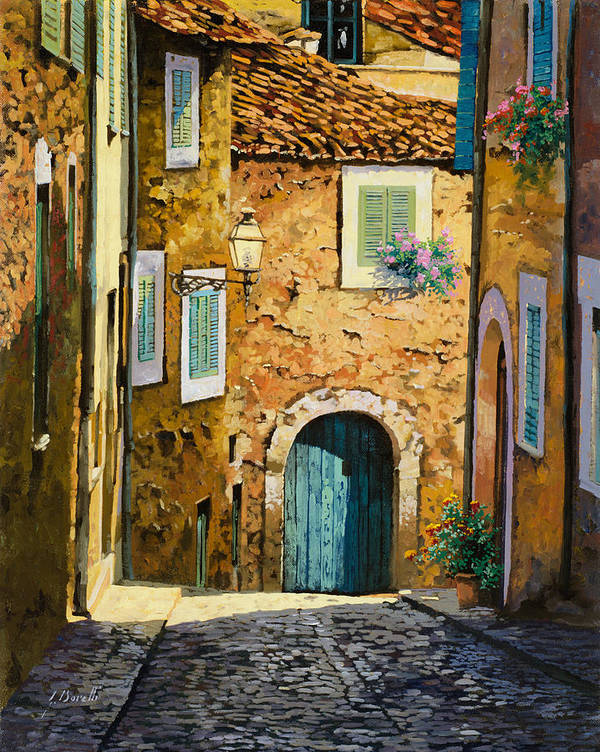 Landscape Poster featuring the painting Arta-mallorca by Guido Borelli