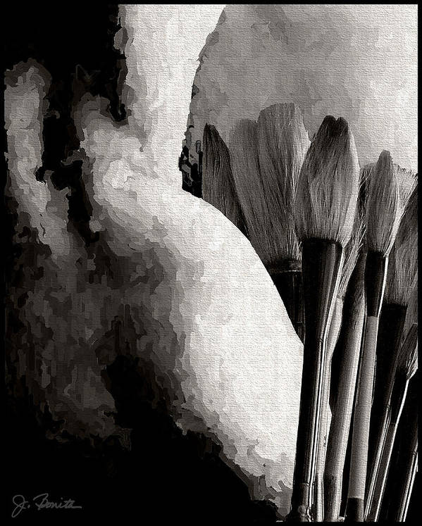 Nude Poster featuring the photograph Artwork by Joe Bonita