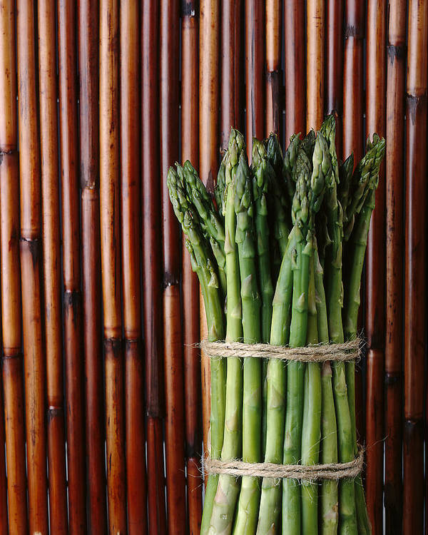 Asparagus Poster featuring the photograph Asparagus by Jessica Wakefield