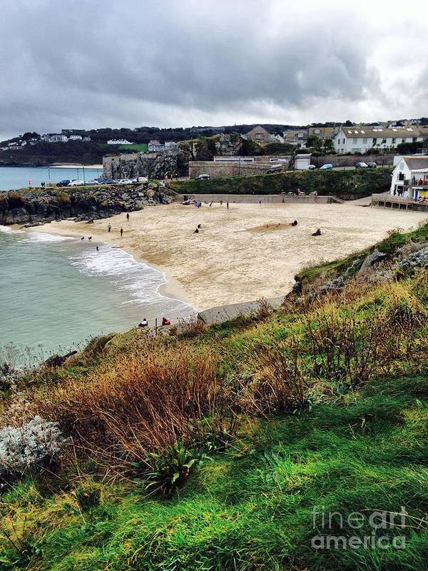 Autumn Poster featuring the photograph Autumn In St Ives by Melissa Stephenson