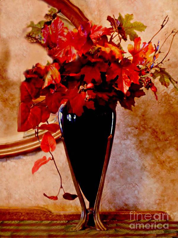 Anne Alfaro Poster featuring the photograph Autumn Splendor by Anne Alfaro