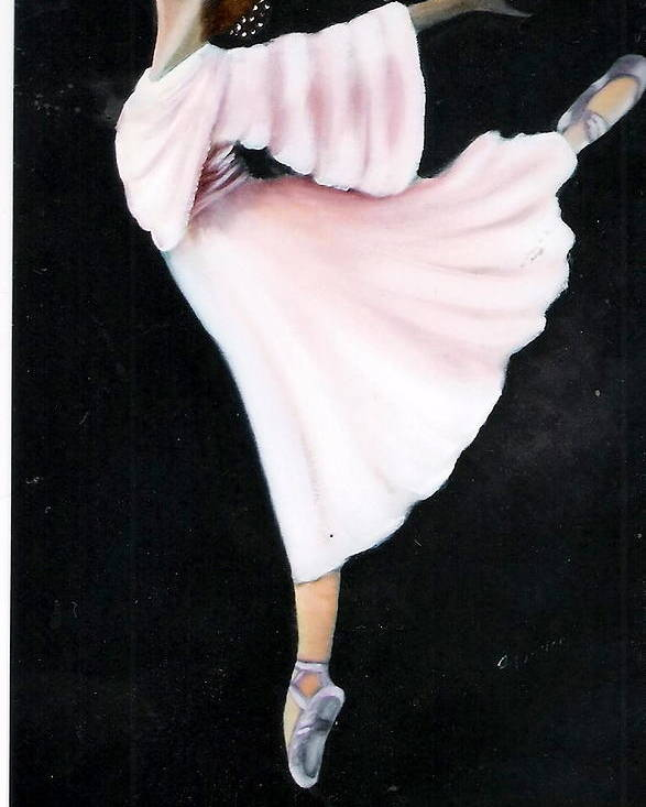 Dance Poster featuring the painting Ballet Practice by Felix Turner