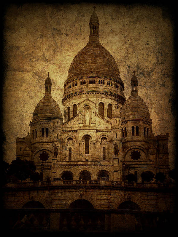 Architecture Poster featuring the photograph Basilica by Andrew Paranavitana