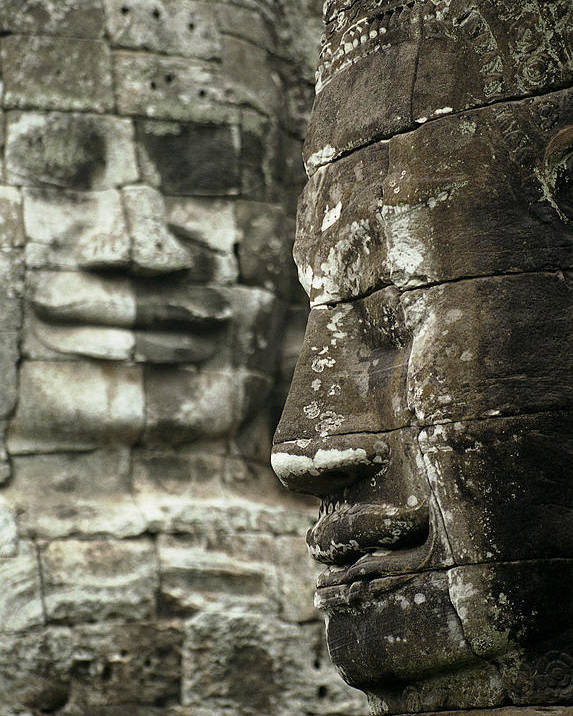 Bayon Poster featuring the photograph Bayonii by Patrick Klauss