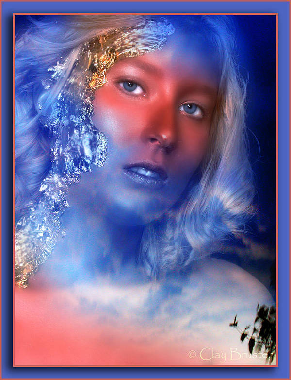 Clay Poster featuring the photograph Beauty In The Clouds by Clayton Bruster