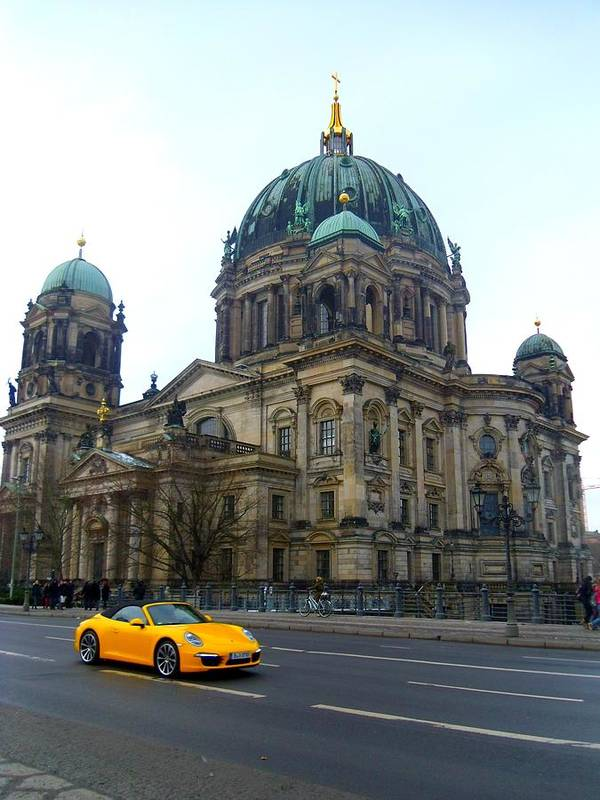 Berlin Poster featuring the photograph Berlin Dome by Renee Kilburn