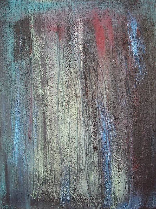 Paintings Poster featuring the painting Black No 2 Sold by Elizabeth Klecker