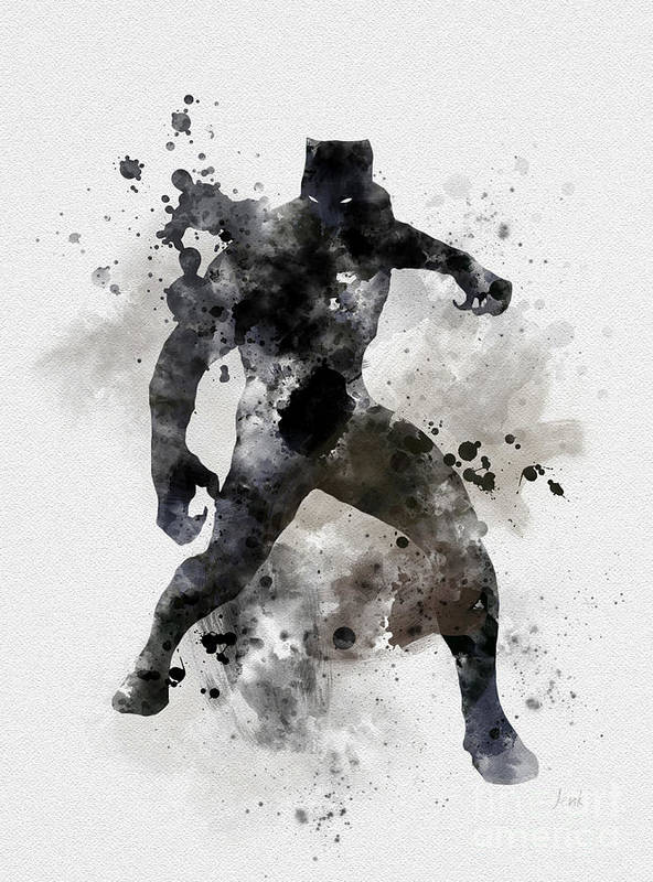 40825a42318ae Black Panther Poster