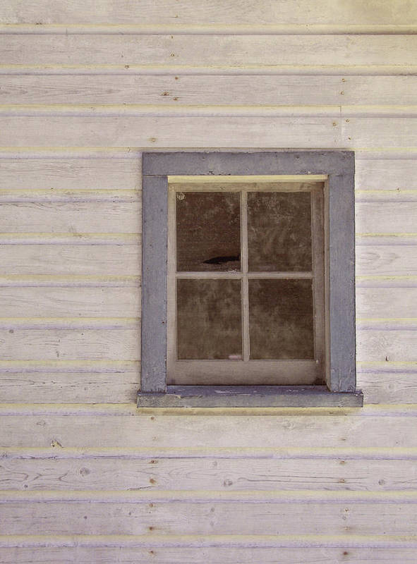 Window Poster featuring the photograph Blue Window by JAMART Photography