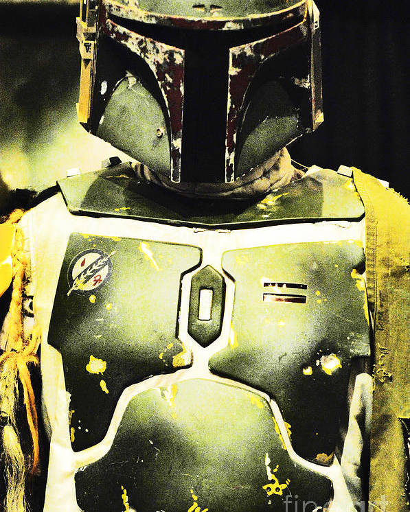 Boba Fett Poster featuring the photograph Boba Fett by Micah May