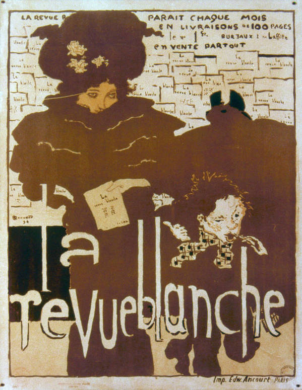 1894 Poster featuring the photograph Bonnard Revue 1894 by Granger