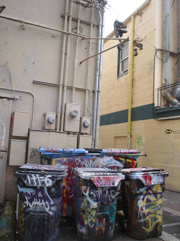 Urban Art Poster featuring the photograph Boots On A Wire by Chandelle Hazen