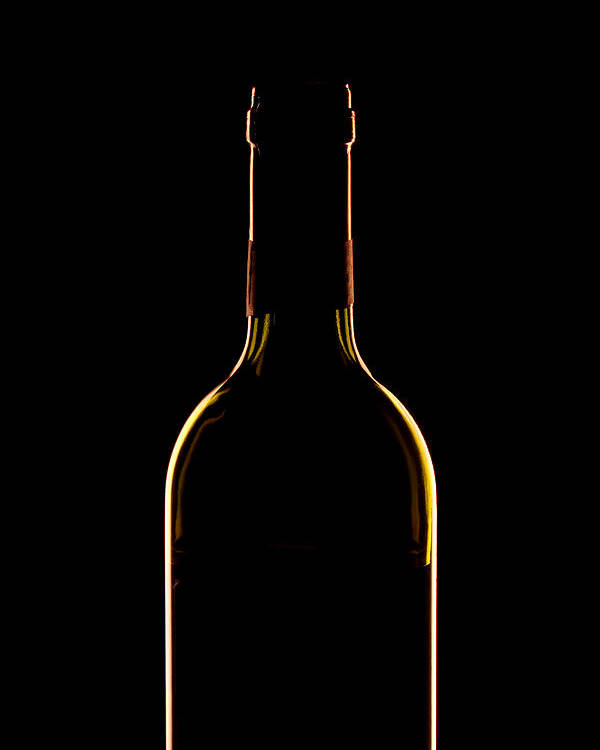 Wine Poster featuring the photograph Bottle Of Wine by Andrew Soundarajan