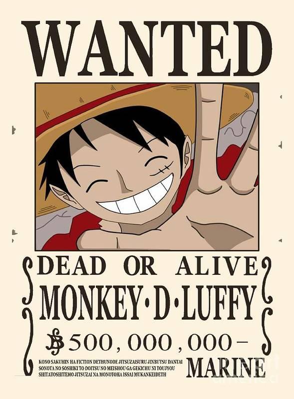 One Piece Poster By Aditya Sena