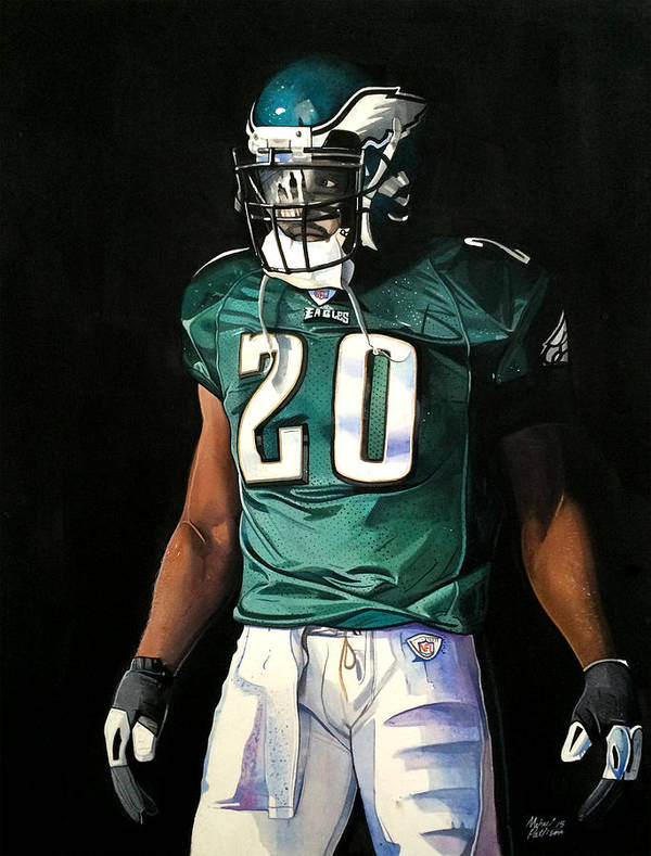 buy online 1e56f a16ef Brian Dawkins Weapon X - Philadelphia Eagles Poster