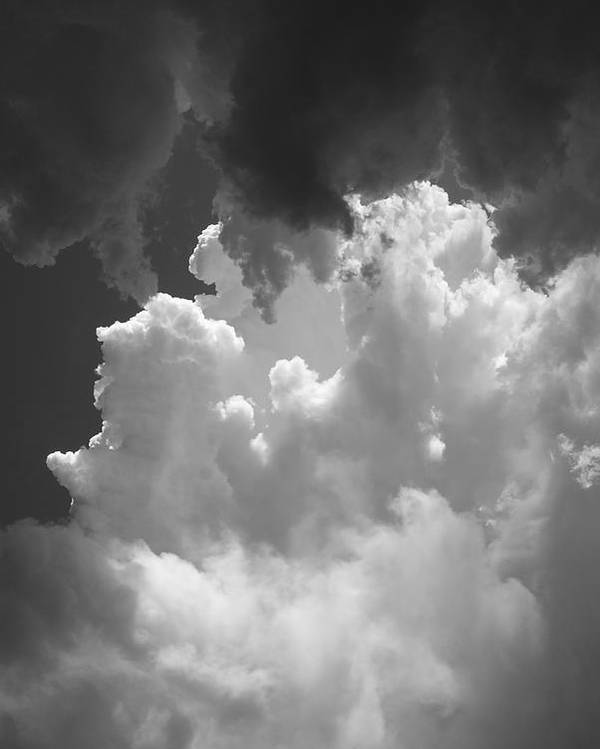Clouds Poster featuring the photograph Buliding Storm by Brian Anderson