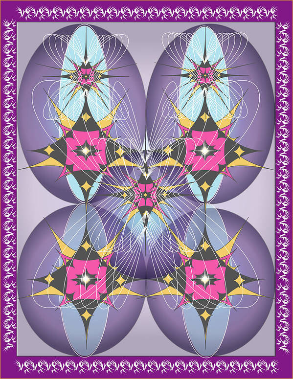 Giclee Poster featuring the digital art Butterfly2 by George Pasini