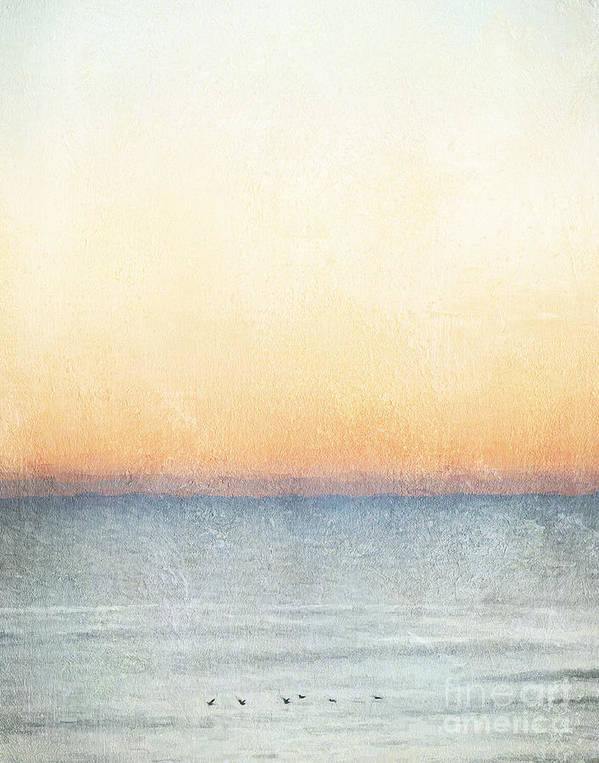 Sunset Poster featuring the photograph Calm Waters by Jayne Carney