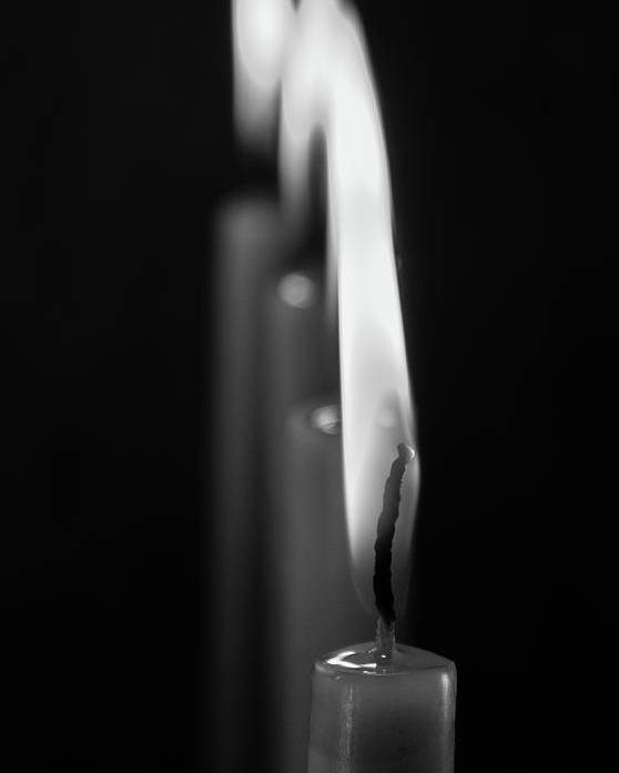Candle Poster featuring the photograph Candle by Marwa Elsayed