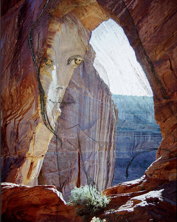 Canyon De Chelly Poster featuring the photograph Canyon De Chelly Spirit by Richard Henne