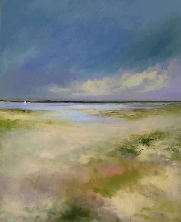 Landscape. Seascape Poster featuring the painting Cape Cod by Michael Marrinan