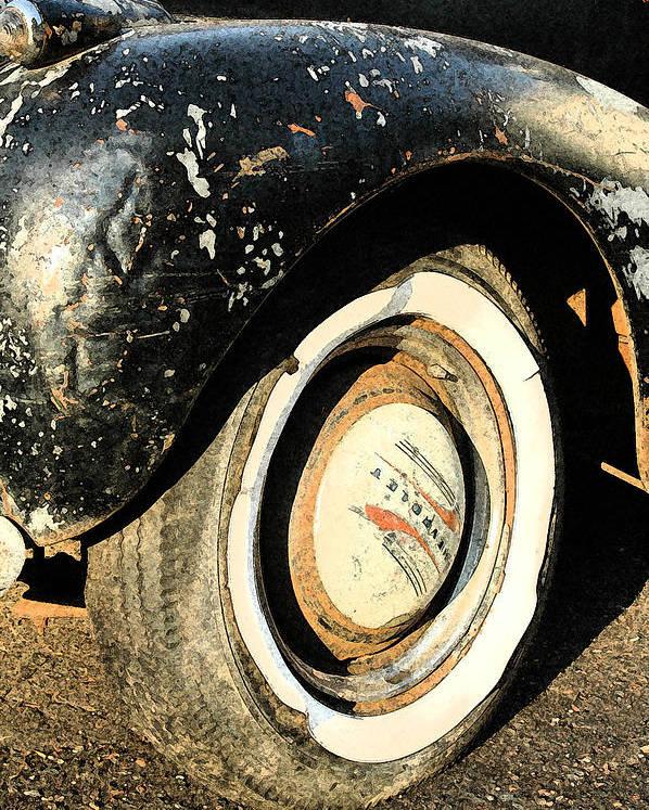 Car Poster featuring the photograph Car Alfresco II by Kathy Schumann